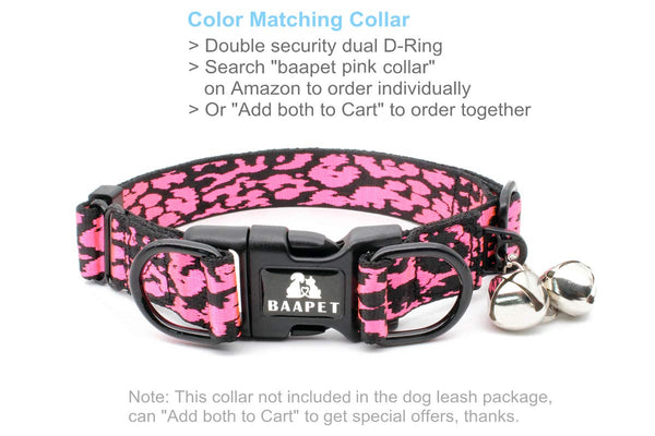 BAAPET Double Handle Dog Leash