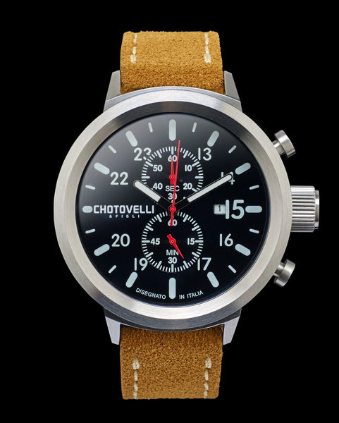 Chotovelli Big pilot watch 747-12