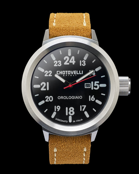 Chotovelli Big pilot watch 747-02