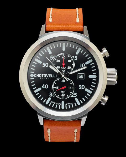Chotovelli Big pilot watch 747-11