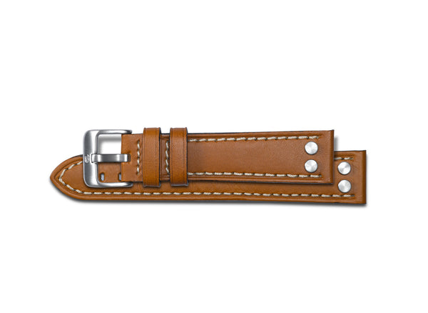 Pilot watch Strap - Alfa Tan oil Leather Watch Band