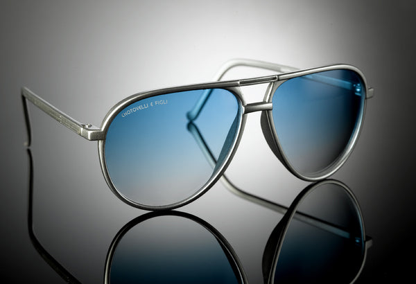 Silver Aviator Shades