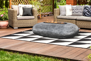 Prism Hardscapes Pebble Fire Table