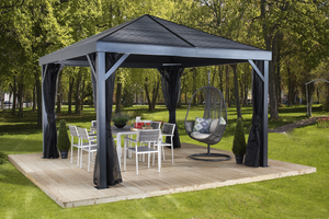 ShelterLogic Sojag South Beach Gazebo 12 ft. W x 12 ft. D x 10 ft. H