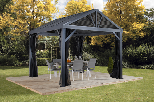 ShelterLogic Sojag South Beach I Gazebo 12 ft. W x 12 ft. D x 10 ft. H