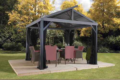 ShelterLogic Sojag South Beach II Gazebo 12 ft. W x 12 ft. D x 10 ft. H