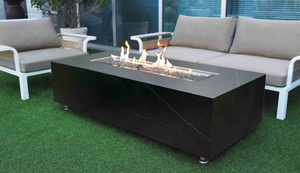 Elementi Varna Porcelain Fire Table