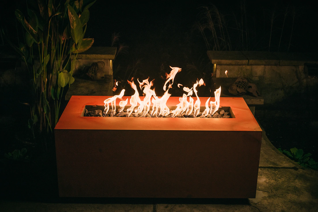 Fire Pit Art Linear 48