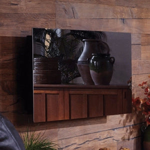 "Touchstone Mirror Onyx 50"" Wall Mounted Electric Fireplace 80008"