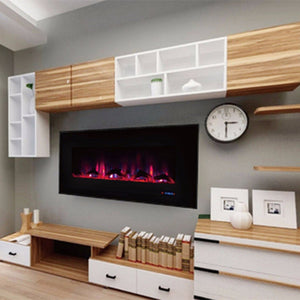 "Touchstone ValueLine  60"" Flush Mount Electric Fireplace  80018"