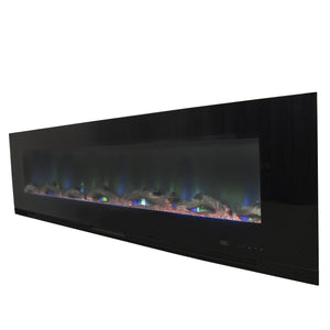 "Touchstone ValueLine  72"" Flush Mount Electric Fireplace 80019"