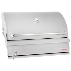 "Blaze 32"" Built-In Adjustable Charcoal Grill"