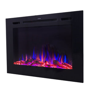 "Touchstone Forte 40"" Recessed Electric Fireplace 80006"