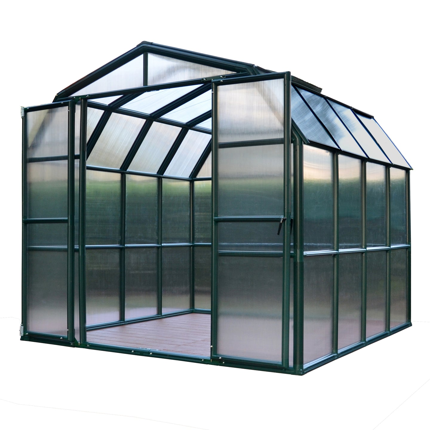 Rion Grand Gardener 8' x 8' Greenhouse - Twin Wall