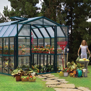 Rion Prestige 2 Clear 8' x 16' Greenhouse