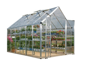 Palram Snap & Grow 8' x 12' Greenhouse - Silver