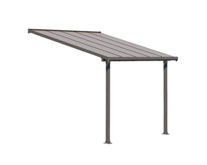 Palram Olympia 10' x 10' Patio Cover - Gray/Bronze