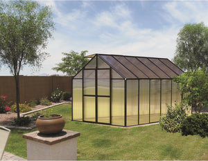 Riverstone Monticello Greenhouse 8FTx 12FT - Premium Package