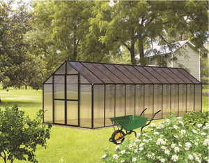 Riverstone Monticello Greenhouse 8FTx 24FT - Premium Package