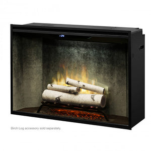 "Dimplex Revillusion® 42"" Built-in Firebox - Weathered Concrete"