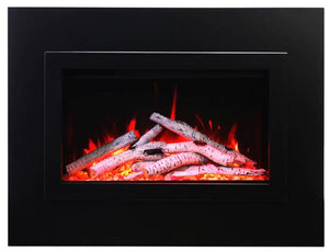 "Amantii Traditional Built-in Electric Fireplace Insert, Sizes: 26"" - 48"""