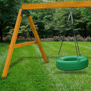Gorilla Pioneer Peak w/ Amber Posts and Sunbrella® Canvas Forest Green Canopy
