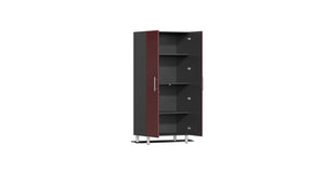 Ulti-MATE Garage Cabinet 2.0 Series 10-Piece Kit with Bamboo Worktop Red