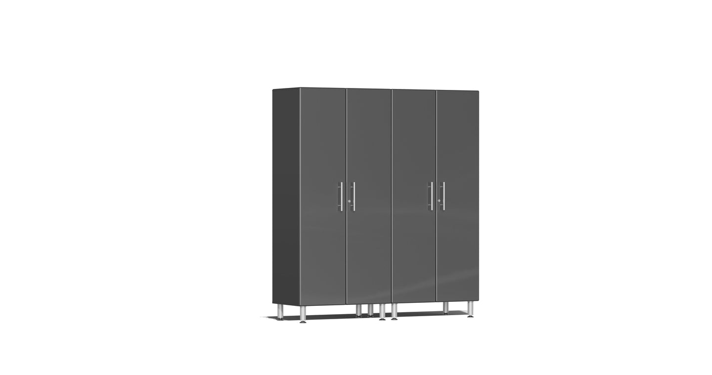 Ulti-MATE Garage Cabinet 2.0 Series 2-Pc Tall Cabinet Kit Gray