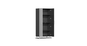 Ulti-MATE Garage Cabinet 2.0 Series 8-Piece Tall Cabinet Kit Silver