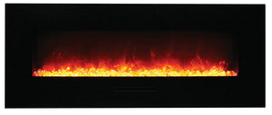 "Amantii 58"" Built-in /Wall Mounted Electric Fireplace (WM-FM-48-5823-BG)"