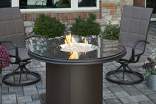 The Outdoor Greatroom Company Brown Granite Beacon Dining Height Gas Fire Pit Table