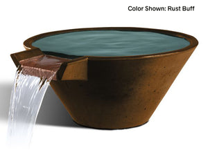 Slick Rock Cascade Conical Water Bowl