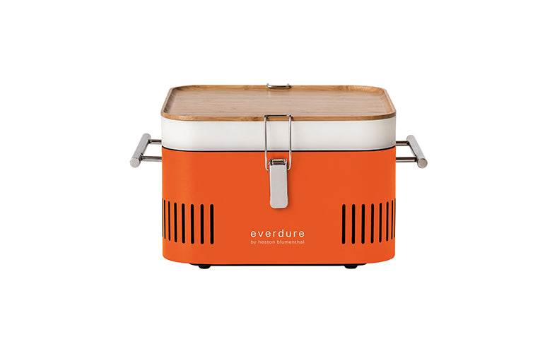 Everdure CUBE™ Charcoal Portable Barbeque- Orange