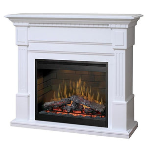"Dimplex Essex 55"" Electric Fireplace and Mantel Package"