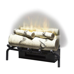 "Dimplex Revillusion™ 20"" - Plug-in Electric Log Set - Birch Logs"