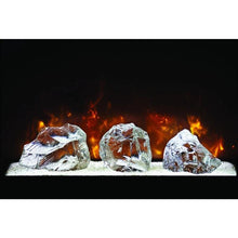 "Modern Flames 60"" Custom Built-in Electric Firebox"