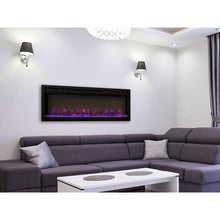 Modern Flames Spectrum 74-In Built-In Electric Fireplace