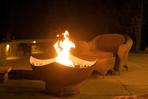 Fire Pit Art Manta Ray