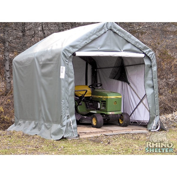 Rhino Shelters Instant Storage Shed House 8'Wx8'Lx8'H