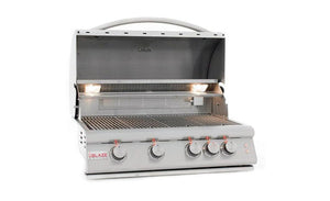 "Blaze LTE 32"" 4-Burner Built-In Propane Gas Grill"