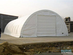 Rhino Shelters Commercial Round Truss Building 30'Wx40'Lx15'H