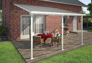 palram Feria 13' x 14' Patio Cover - White