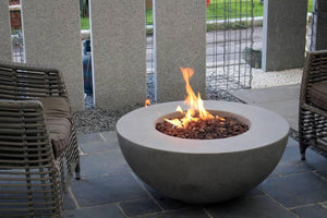 Elementi & Modeno Fire Pit Lunar Bowl Fire Table