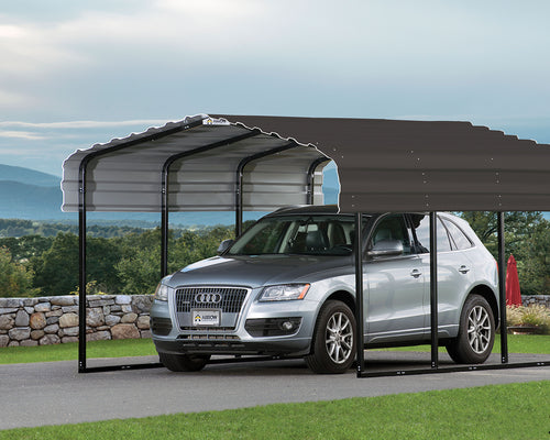 ShelterLogic Arrow 10 ft. W x 29 ft. D  Galvanized Steel Carport, Car Canopy and Shelter