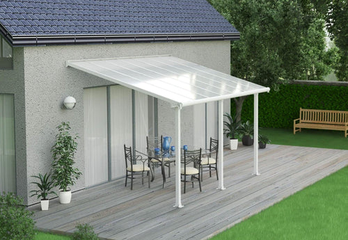 Palram Olympia 10' x 10' Patio Cover - White/White