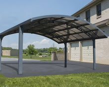 Palram Arizona Breeze Dbl Carport Arch-Style
