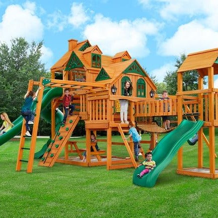 Gorilla Empire Extreme Cedar Swing Set