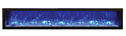 Amantii Panorama SLIM 88″ Built-in Indoor /Outdoor Electric Fireplace (BI-88-SLIM)