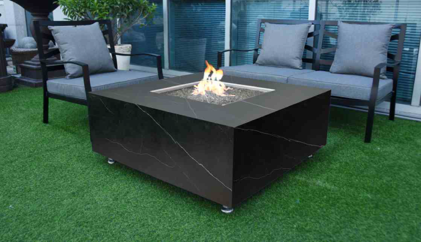 Elementi Sofia Porcelain Fire Table