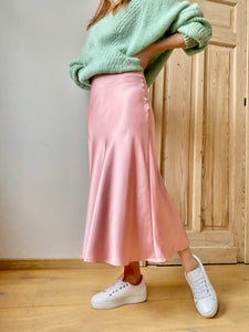 "The ""Nights in pink satin"" -skirt"